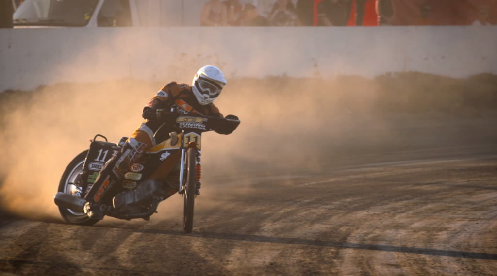 Filming with Flat Track Canada